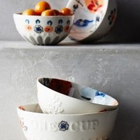 Handpainted Lucerne Measuring Cups by Anthropologie in Assorted Size: Measuring Cups Glassware