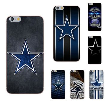 Omdnwd For Sony Xperia Z Z1 Z2 Z3 Z4 Z5 compact Mini Premium M2 M4 M5 T3 E3 E5 XA TPU Cell Phone Cover Case Dallas Cowboys