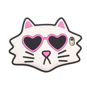 Love Cats 3D Iphone 6/6S Case  Iphone 6+/6S Plus Case