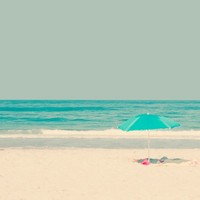 at the seaside Art Print by Ingrid Beddoes | Society6