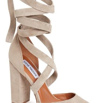 Steve Madden Bryony Lace-Up Pump (Women) | Nordstrom