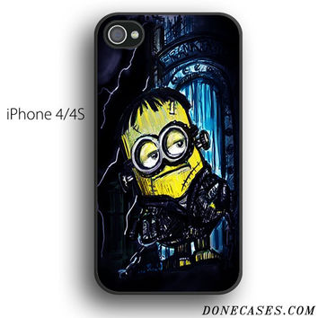 minions frankenstein case for iPhone 4[S]