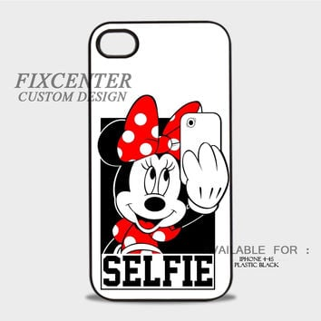 Minnie Mouse Selfie - iPhone 4/4S Case