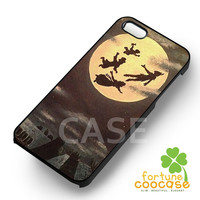 Disney Peter Pan Quote never grow silhouette moon -sndh for iPhone 6S case, iPhone 5s case, iPhone 6 case, iPhone 4S, Samsung S6 Edge