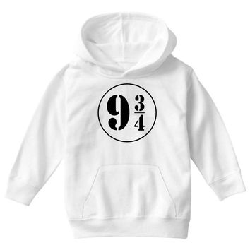 Harry Potter Train 9 3:4 Youth Hoodie