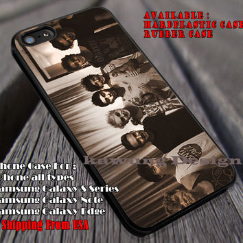 In-5sos&1D together, One Direction, 1D, 5 sos, 5 Second of Summer, case/cover for iPhone 4/4s/5/5c/6/6+/6s/6s+ Samsung Galaxy S4/S5/S6/Edge/Edge+ NOTE 3/4/5 #music #5sos #1D ii
