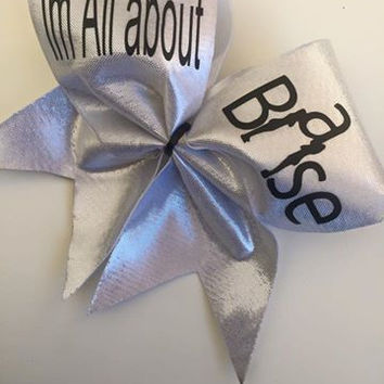 Im all about the Base Cheer Bows