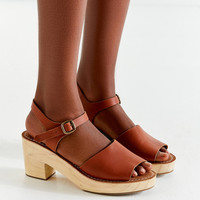 Krista Wooden Heel | Urban Outfitters