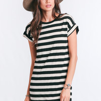 Stone Striped Dress By Knot Sisters