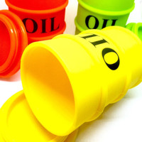 Oil Barrel Silicone Container (LRG)