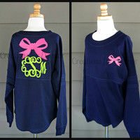Ladies Monogrammed Spirit Jersey