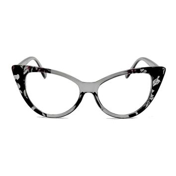 NWT Womens Big Cat Eye Reader Vintage Style Sexy Reading Glasses