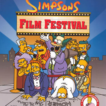 The Simpsons Film Festival 1999 Cast Poster 20x28