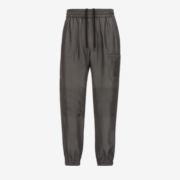 Habotai Silk Tracksuit Bottoms