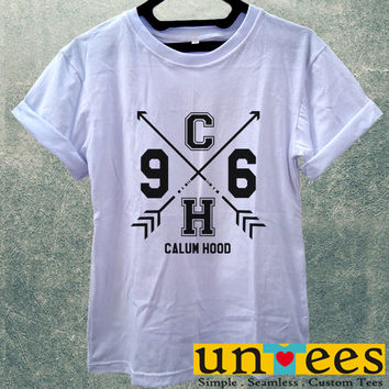 Low Price Women's Adult T-Shirt - 5 Seconds of Summer Calum Hood 5SOS design