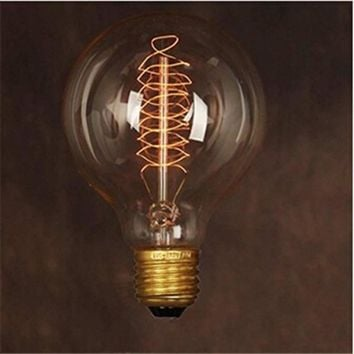 Edison Style Led filament bulb E27 40w G80 Vintage Dragon Ball AC220V Energy Saving LED Lamp for indoor Home Decoration