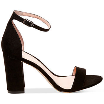 Madden Girl Bella Two-Piece Block Heel Sandals | macys.com
