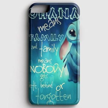 Ohana Means Family iPhone 6/6S Case