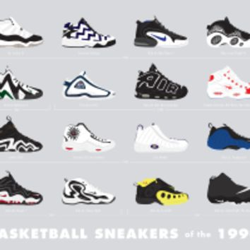 Basketball Sneakers of the 1990s