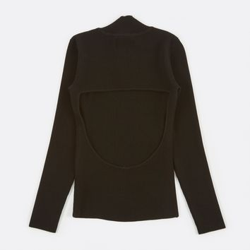 Nanushka Sade Roll Neck Jumper - Black