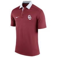 Nike Oklahoma Sooners Elite Coaches Dri-FIT Performance Polo