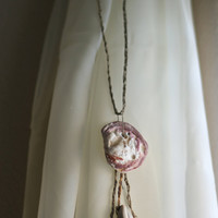 The Mermaid shell necklace