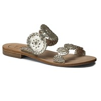 Lauren Sandal in Platinum by Jack Rogers - FINAL SALE