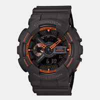 Casio G-Shock Ga 110ts 1a4er Watch - Black/orange at Urban Industry