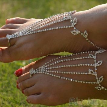 1PC Barefoot anklets Sandals Foot Jewelry Ankle Bracelet
