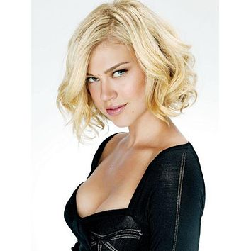 Adrianne Palicki poster Black Low Cut Top 11 inch x 17 inch poster