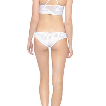 Milo Low Rise Hipster Bikini Bottom - Reef Blanc