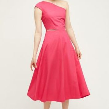 Troubador Amaryllis Midi Dress in Pink Size:
