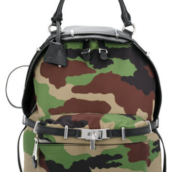 Moschino Camouflage Backpack - Farfetch