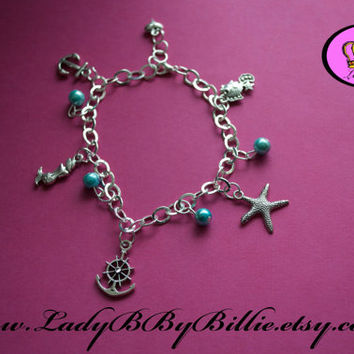 Nautical But Nice Handmade Charm Bracelet