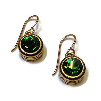 Patricia Locke Jewelry - Solo Earrings in Fern
