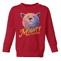 Mighty By Nature Bear Youth Sweatshirt