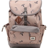 Vans Coyote Hills School Backpack - Mens Backpacks - Brown - NOSZ
