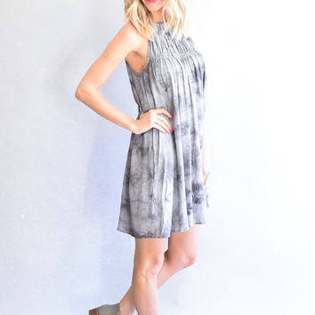 Stormy Gray Dress