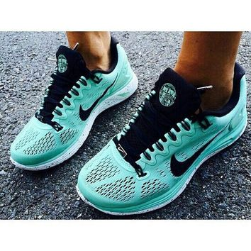 9dedadafd512 Nike LunarGlide 5 Tiffany Blue Running Shoes 2014  Half Off Nike Frees  1951  -  57.69