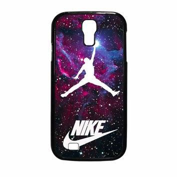 Michael Jordan Nike Galaxy Blue Samsung Galaxy S4 Case