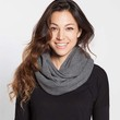 Waffle Knit Infinity Scarf - Charcoal : Marine Layer