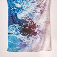 Leah Flores For DENY Waves Tapestry - Urban Outfitters