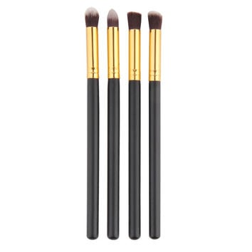 4Pcs Professional Eyeshadow Foundation Mascara Blending Pencil Makeup Cosmetic Brush Set