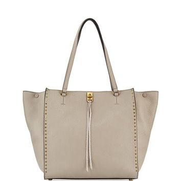 Rebecca Minkoff Darren Pebbled Studded Tote Bag