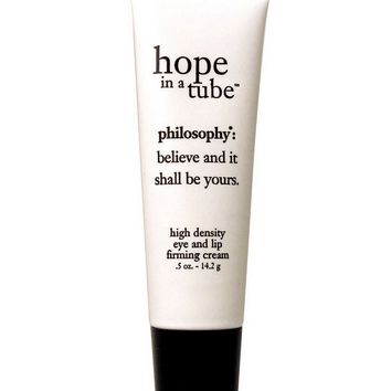 philosophy hope in a tube: eye and lip contouring cream
