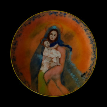 1998 Madonna and Child First Edition Plate #111 of 1,000