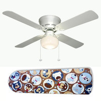 """Pooches Puppy Dog 42"""" Ceiling Fan and Lamp"""