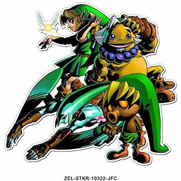 The Legend of Zelda OFFICIAL Ocarina of Time Sticker Decal