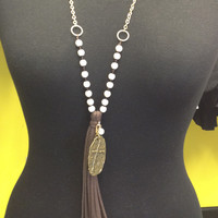 Tassels & Things Accent Necklace