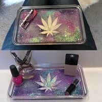 Rolling Tray | Vanity Tray |Bathroom Tray